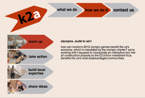 knowledge to action website screenshot