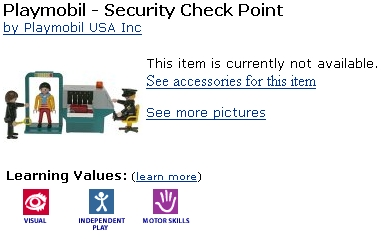 Security Checkpoint ToySecurity Checkpoint Toy