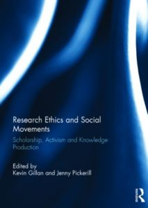 Cover: Gillan & Pickerill (Eds) Research Ethics and Social Movements